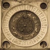 Venice, Italy - St Mark's Clocktower detail photo