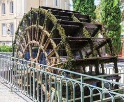 Water wheel, Provence photo