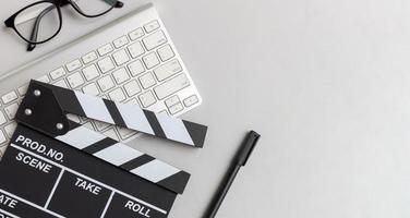 film director's desk photo