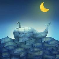 ballena azul foto
