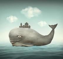 una ballena de fantasía foto