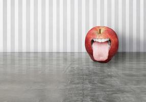Funny Apple Tongue photo