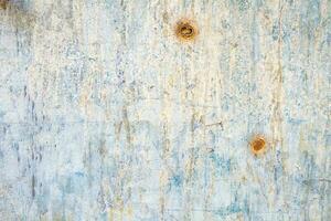 óxido en la superficie del hierro viejo foto