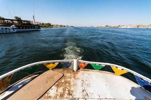 river trip cruise on the Nile in Egypt photo