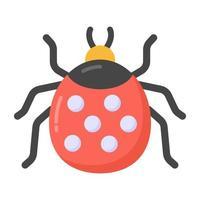 mariquita e insectos vector