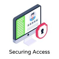 Safe  Securing Access vector