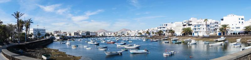 Inland Port Arrecife Lanzarote Spain photo