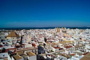 la ciudad de cádiz españa andalucía foto