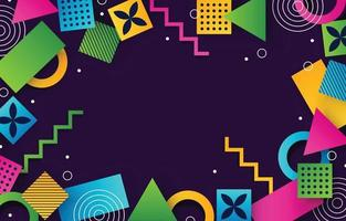 Colorful Abstract Background Concept vector