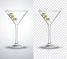Scotch whisky glasses set . vector