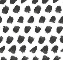 Abstract minimalist seamless pattern with grunge ink textured dots vector