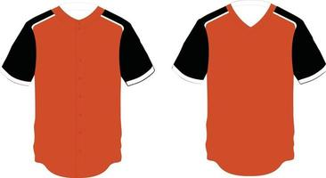 Pullover and Full Button Jersey vector