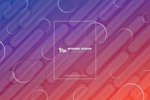 tecnología abstracta colorida de la línea de diseño de tecnología de tono magenta. vector