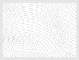 Black abstract lines with distortion effect. Optical illusion. vector