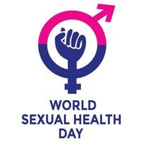 World Sexual Health Day Banner vector