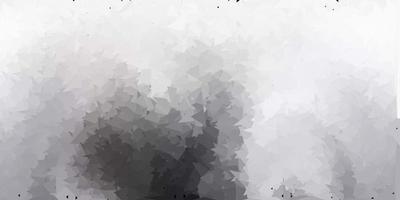 patrón de triángulo abstracto vector gris claro.