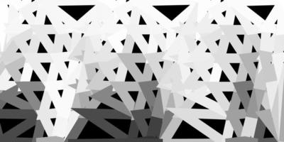 Fondo de triángulo abstracto vector gris claro.
