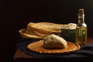 Delicious traditional tamales food assortment photo