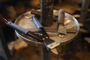 The high angle tools arrangement photo