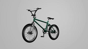 corrida de bicicleta moderna verde video