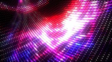 Glow Red Purple Blue Digital Wireframe video