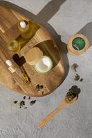 el arreglo del gotero de aceite de cbd foto