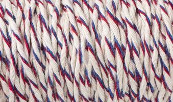 la composición de la textura de la cuerda rugosa foto