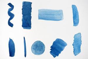 Watercolor splash paper texture composition photo