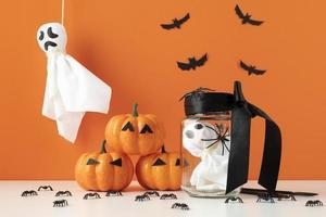 The Creative halloween elements assortment photo