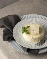 The delicious paneer cheese composition photo