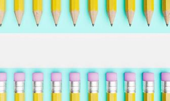 PENCILS with copy space photo