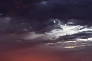Sky of real photos of clouds and soft colors for background