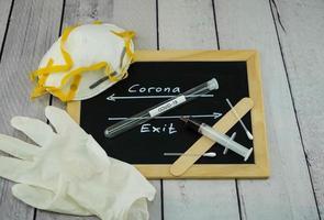 coronavirus una enfermedad pandémica mundial foto