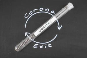 corona Virus a world wide pandemic illness photo