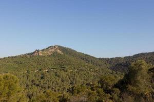 Collcerola Mountains, Barcelona, Catalonia, Spain photo