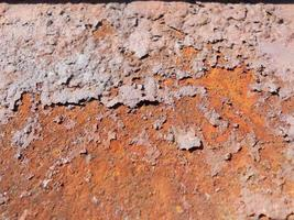 Rust consisting of surface brown, natural sample fracture photo