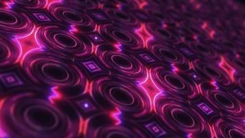 Glow Pink and Purple Neon Futuristic Technology video