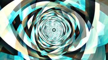 Green and Blue Futuristic Technology Vortex Spin video