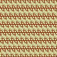 Traditional Batik Parang Pattern vector