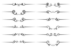 Vector Hand Drawn Dividers