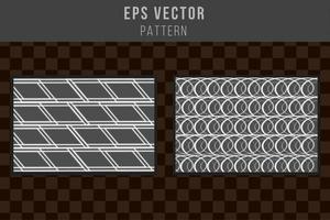 patrón de escala de grises de fondo sin fisuras fondo gris en blanco y negro vector