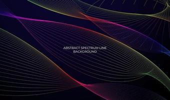 abstract spectrum line background design vector