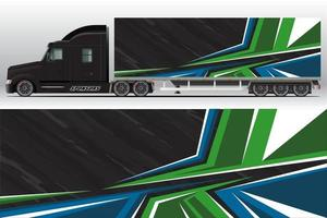 Car wrap company design. Graphic background designs for vehicle livery vector