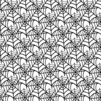The pattern of the spider web.Design for Halloween vector
