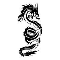 Design dragon tribal tattoo Dragon Tattoo