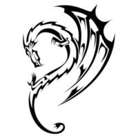 Design dragon tribal tattoo 50 Dragonfly