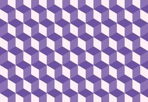 Fondo de patrón de cubo colorido isométrico. ilustración vectorial vector