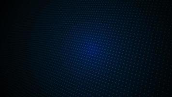 Dark Blue Light Digital Dotted Pattern video