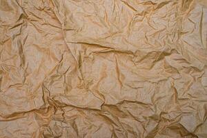 Cerrar papel arrugado arrugado antiguo fondo de textura foto