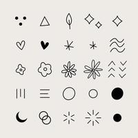 25 Vector Shapes Collection